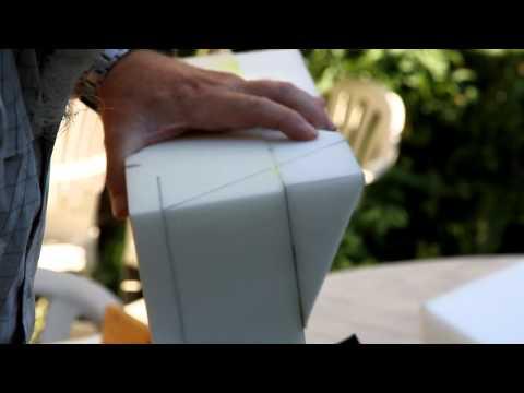 Cutting Seat Foam