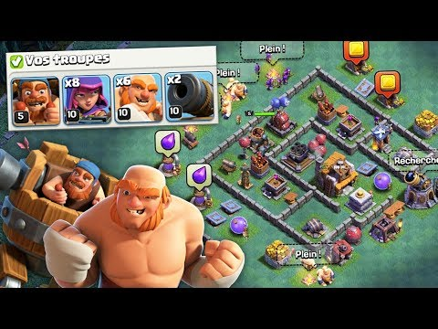 On se bat sur BASE MAX avec TROUPES MAX contre Arsenik !! - Clash of Clans