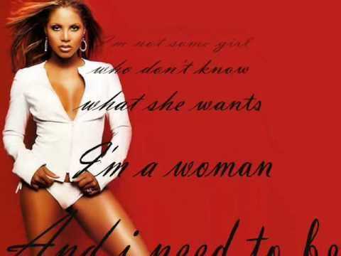 Toni Braxton - Woman ( with lyrics )
