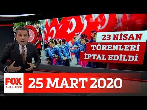 Okul Tatili Uzatılacak Mı? 25 Mart 2020 Fatih Portakal Ile FOX Ana Haber