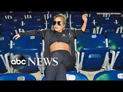 Lady Gaga Super Bowl Halftime Stunt