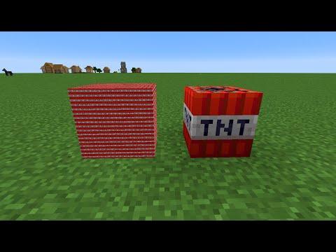 4096 mini tnt vs 1 tnt normal