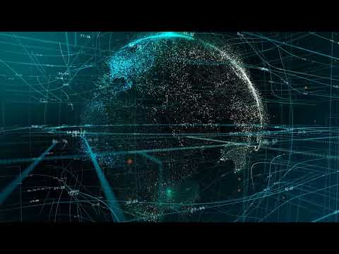 No Copyright Video Background Free To Use **GLOBE AND EARTH HOLOGRAM/ANIMATION**
