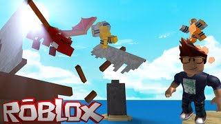 MY FIRST ROBLOX GAME AND I'M HOOKED!!! DRAGON RAGE IN ROBLOX