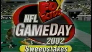 Fox Kids (2001) - NFL GameDay 2002 Sweepstakes Promo