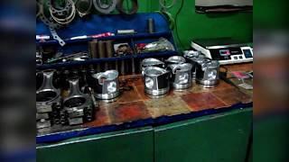 Установка поршневої групи. Assembly Repair of the engine 74063 KAMAZ