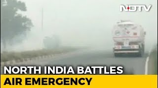 Delhi Air Improves Slightly But Pollution Worsens In Western UP