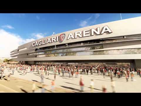 The new Cagliari Stadium