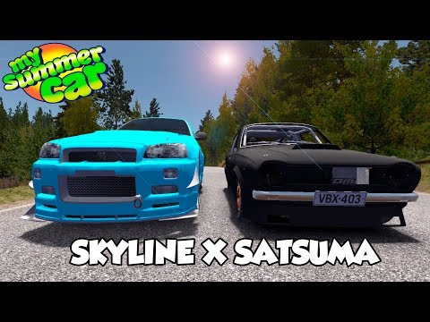 SATSUMA X SKYLINE, O IMPROVÁVEL ACONTECEU! My Summer Car