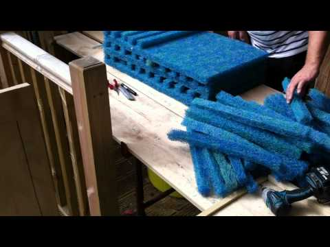 Koi Pond Japanese Mat Cutting Our Way Part 3 Youtube