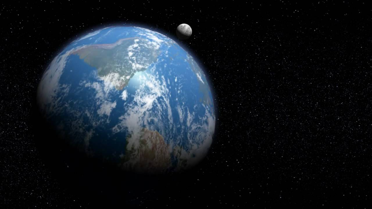 PLANET EARTH view from space in HD - YouTube