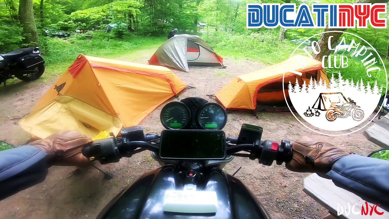 the firewood fiasco - carrying wood on a naked Ducati? - ducati nyc vlog v1463