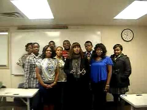 Dr. Kim Logan-Nowlin; Speech 101 Class Wayne County Community College District: 5/2012