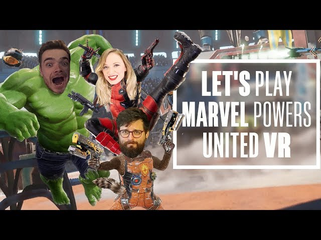 Lets Play Marvel Powers United VR - CHRIS IS GIANT NOW