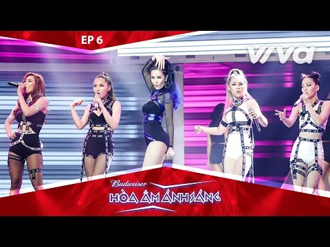 On Top - Team Lip B ft Đông Nhi | Tập 6 Minishow Combat | Remix New Generation 2017