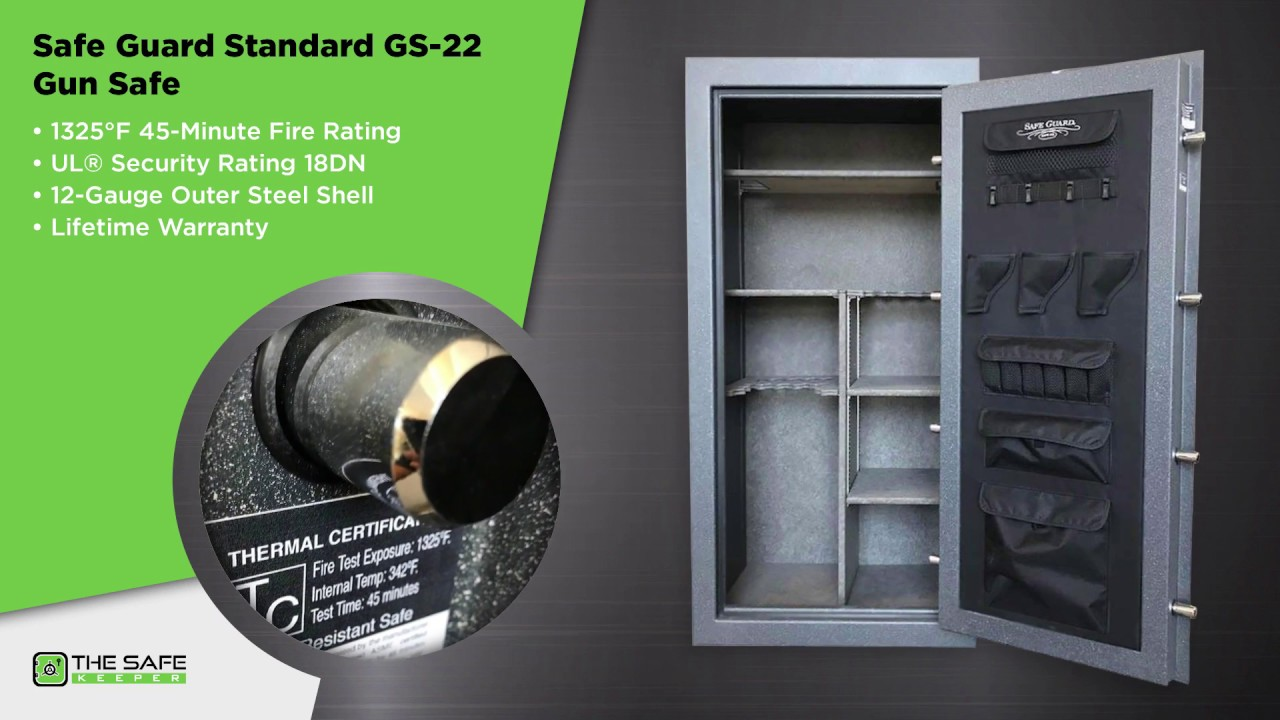 Safe Guard Standard GS-22 (28 Gun Safe)