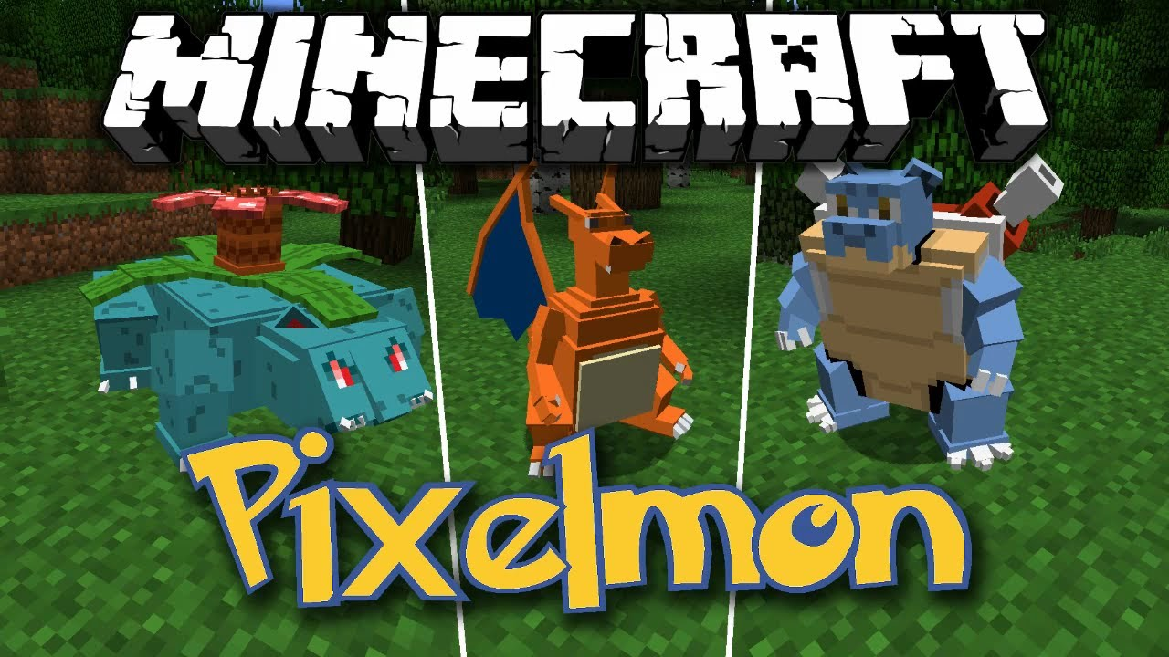 Minecraft [1.5.2] Pixelmon - Mod - 173.1KB
