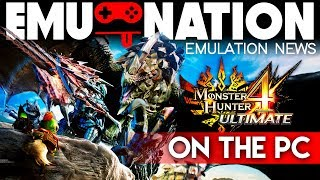 EMU-NATION: Monster Hunter 4 Ultimate on PC with Citra Canary!
