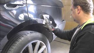 Range Rover. The rear fender repair. Ремонт заднего крыла.(, 2015-05-11T18:17:48.000Z)