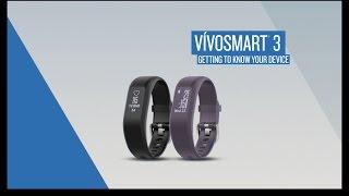 vívosmart 3: التعرف على جهازك
