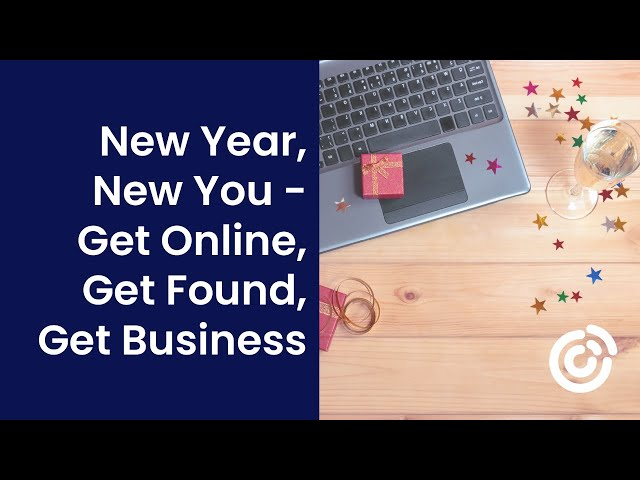 New Year, New You - Get Online, Get Found, Get Business | Webinar | Constant Contact