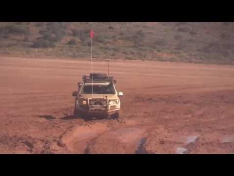 Simpson Desert wet clay pan near Poeppel Corner