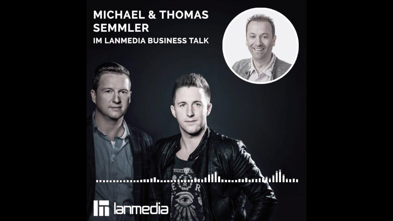 Thomas und Michael Semmler | GF von Semtainment und Newmediacheck GmbH | lanmedia Business Talk