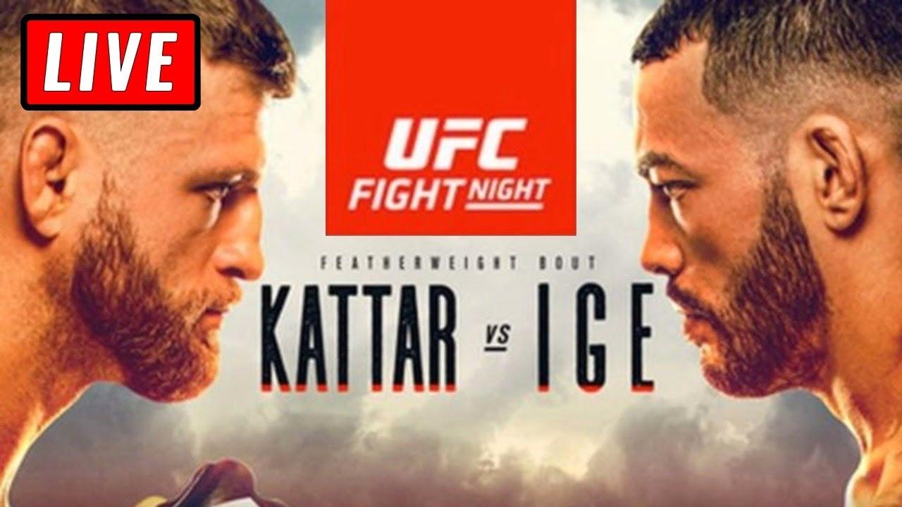 ? UFC Fight Night 172 Live Stream Reaction Watch Along - Kattar vs Ige Fight Island 1