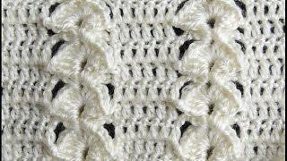 Repeat youtube video Crochet : Punto en Relieve Combinado