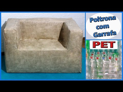 POLTRONA COM GARRAFAS