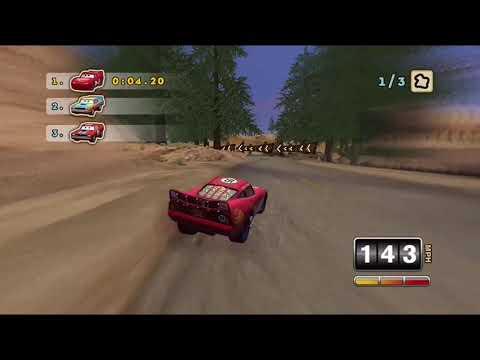 Cars Mater National | Lightning McQueen - The Upper Mine |