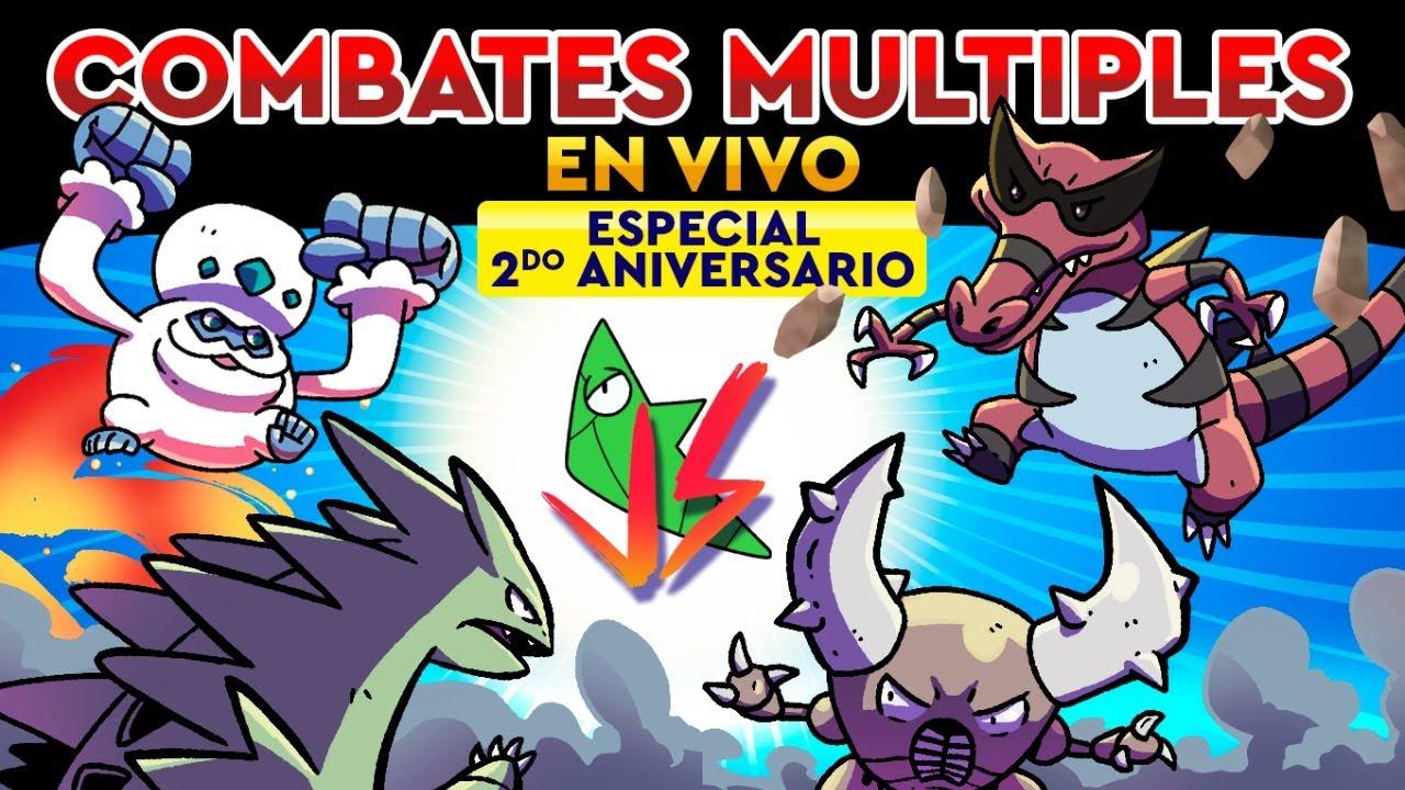 ¡NIBY VS PETER NAT VS SCIZORITE VS HELLOWIN! - ¡ESPECIAL DE SEGUNDO ANIVERSARIO!