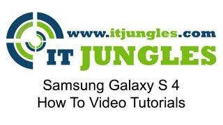 Samsung Galaxy S4: How to Change Handwriting Input Settings