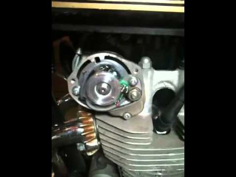 1976 CB500t with new Pamco ignition trying to start