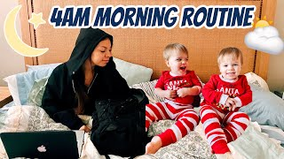 Teen Mom w/ TWINS School Morning Routine