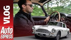 Aston Martin DB4 | DRIVE, START UP & EXHAUST | Auto Express Vlog