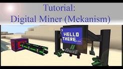 Minecraft Tutorial: Mekanism Digital Miner (einfach & schnell erklärt)