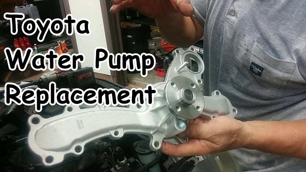 toyota 3 4 v6 engine water pump replacement diagrams how to replace the water pump on the  06 present v6 toyota camry  present v6 toyota camry