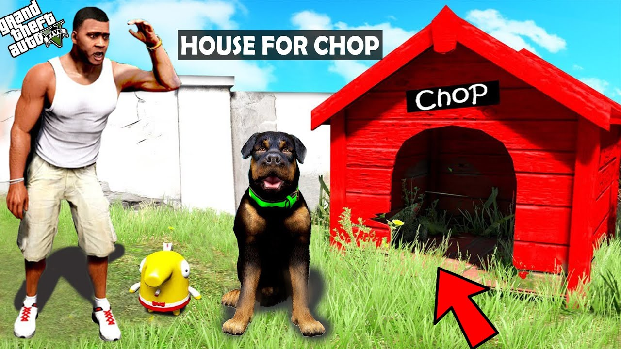 Download Franklin Buying HOUSE FOR CHOP in GTA 5 | GTA5 AVENGERS
