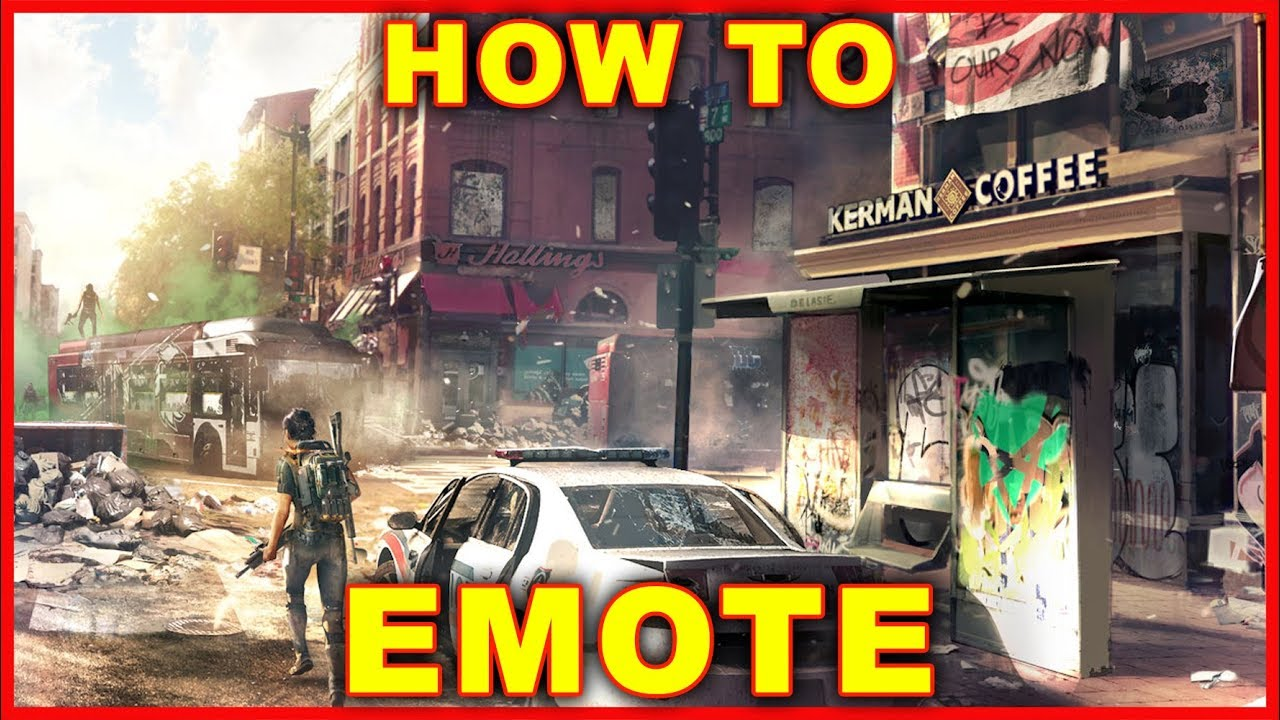 Division 2: How to Dance & Get More Emotes