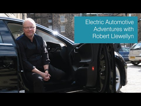Electric Automotive Adventures with Robert Llewellyn