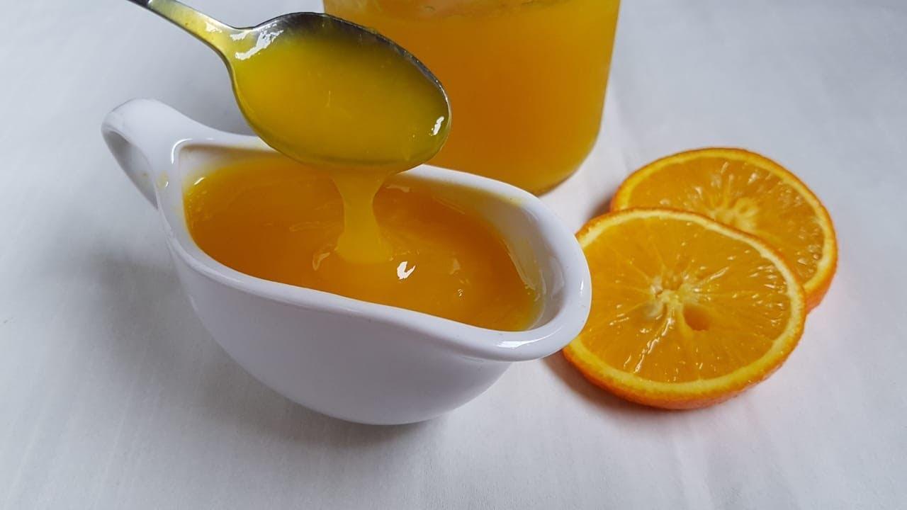 صوص البرتقال ب٣ مكونات وبس رشا الشامي Youtube