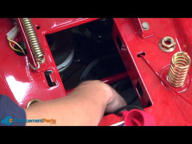 how to fix a lawn mower transmission