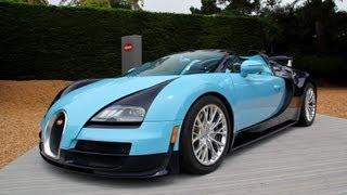 Bugatti Veyron Grand Sport Vitesse Legend Jean Pierre Wimille