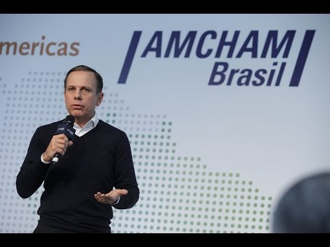 João Doria: São Paulo como oportunidade de Investimento para Wall Street