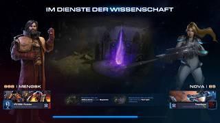 Starcraft 2 Coop Mengsk mit seiner Bio und Nova German Deutsch