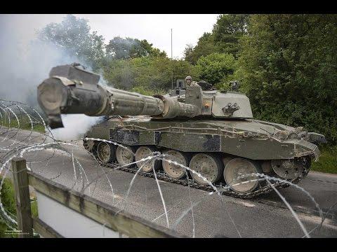 Army Firepower Shakes Salisbury Plain