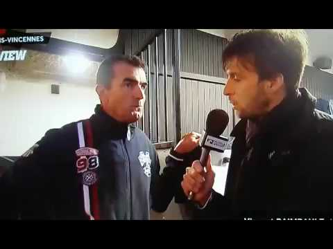 Interview d'avant course V RAIMBAULT Balzac Vincennes 041016