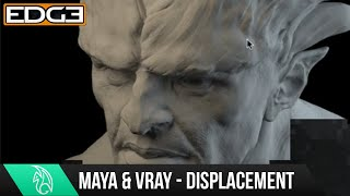 Vray for Maya Tutorial - 32 bit Displacement Script