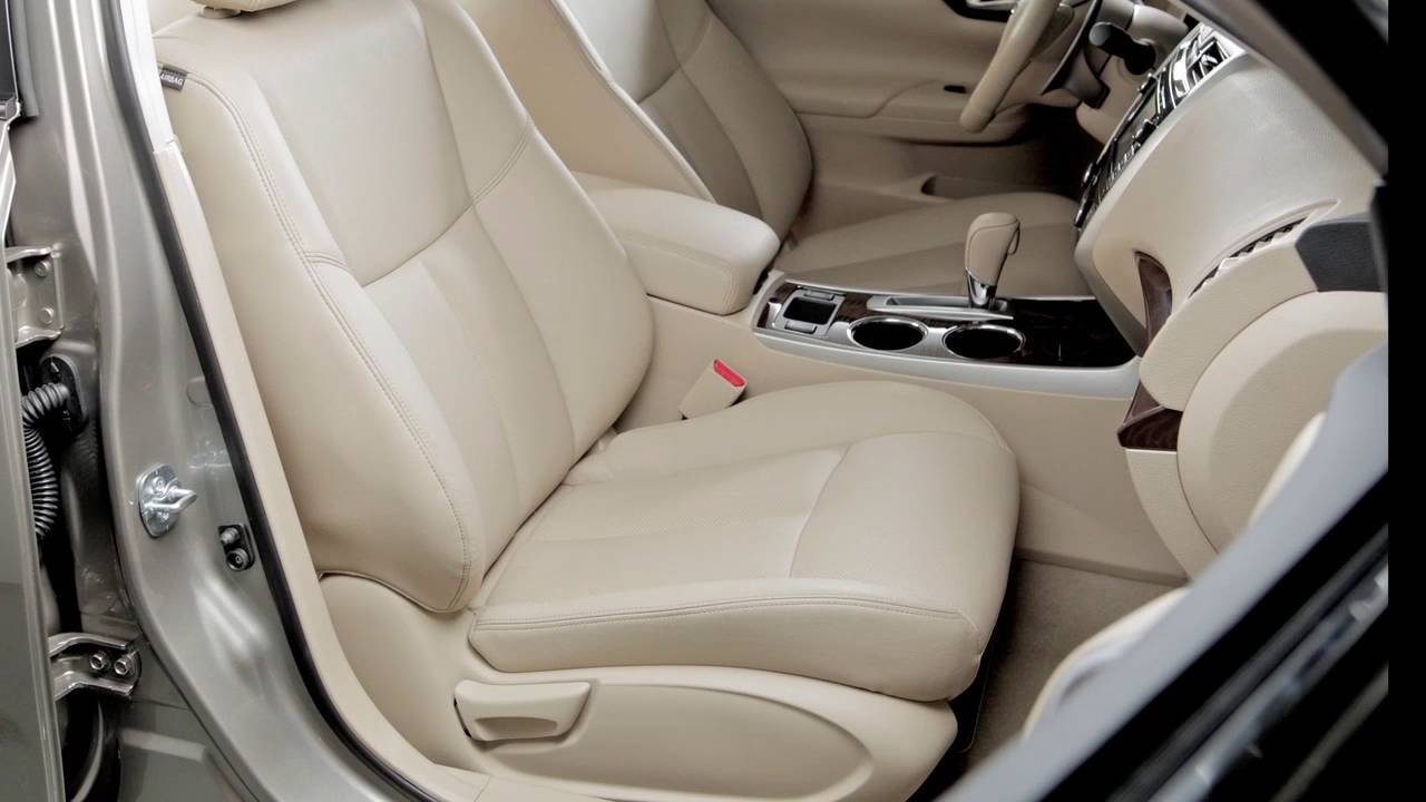 2017 Nissan Altima   Seat Adjustments